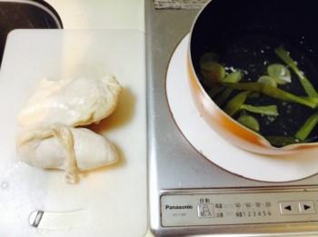 無限に旨い絶品蒸し鶏風ネギ塩ニンニク