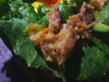 カオマンガイで野菜が格別に旨い