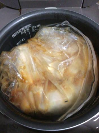 鶏むね肉の極上冷温ジップロック煮(糖質11.3g)