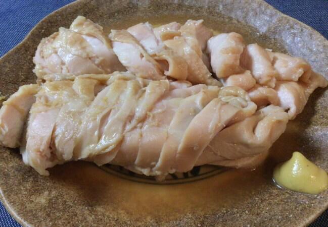 柔らか絶品。鶏むね肉の極上冷温ジップロック煮(糖質11.3g)