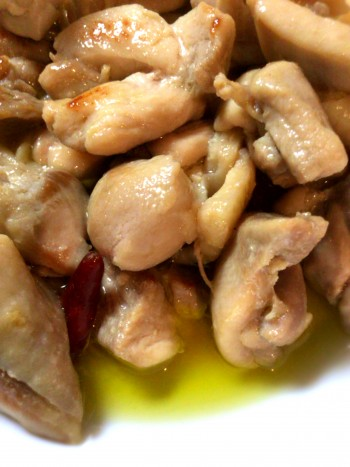 THE・旨い。オリーブオイル日本酒のチキン煮込み(糖質3.6g)