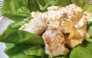魚・野菜好き集合!サラダが主役のタラの山椒タルタルは薄味がgood(糖質制限)