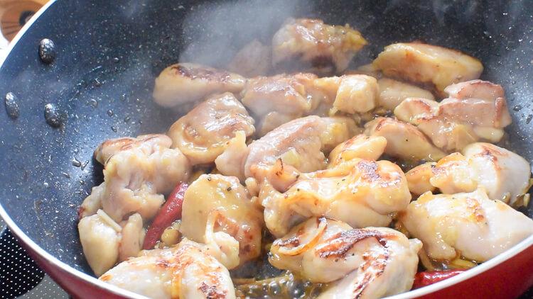 小ネギ好きなら!黒胡椒ニンニクポン酢の極やわ小葱鶏(糖質9.2g)