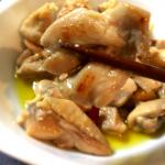 オリーブオイルと日本酒で鶏肉を煮込むと絶品ですよ(糖質制限)