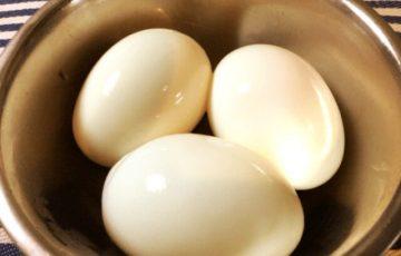 ストレス皆無!つるっと剥ける綺麗なゆで卵の作り方(写真付き)
