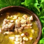 サラダ的美味しさ。鶏もも山椒ポン酢アヒージョ(糖質4.8g)
