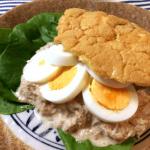 パン欲開放。エッグブレッドの絶品タマツナサンド(糖質1.5g)