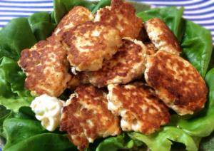 バリエーション無限大。お弁当にも最適なツナ豆腐チキンナゲット(糖質8.1g)