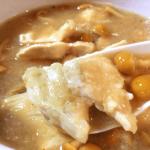 食べるスープ。鶏なめこの柚子胡椒みぞれ煮おろし(糖質12.7g)