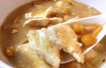 食べるスープ感覚。ゆず胡椒で攻める鶏なめこみぞれ大根(糖質17.8g)