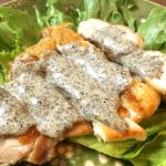 料理も食事も音速で。確実な美味を狙う黒ゴマ辛子チキンステーキ(糖質15.9g)