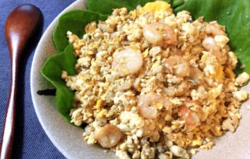最高のお米感。お弁当にも最適なソイライス海老炒飯(糖質7.8g)