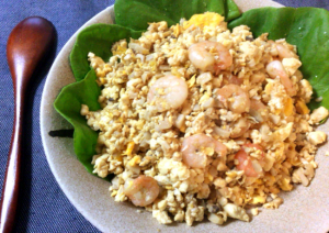 お米0で豆腐感15%。お弁当のスタメンになるエリンギ豆腐炒飯(糖質9.7g)
