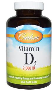 Carlson Labs, ビタミンD3