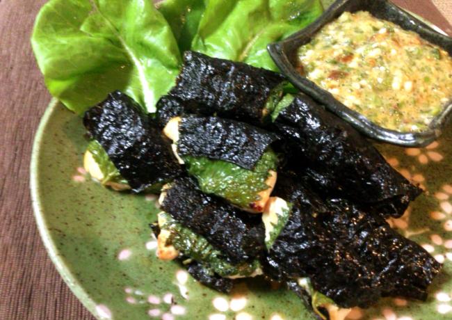 家飲み万歳。鶏大葉海苔と黄身オクラローカボおつまみセット(糖質3.3g)