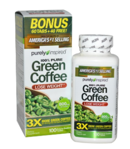 Purely Inspired グリーンコーヒー 800 mg