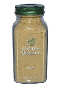 Simply Organic, ショウガ 1.64 oz (46 g)