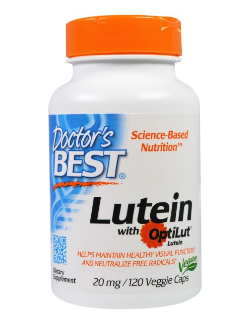 Doctor's Best ルテイン(Lutein with OptiLut) 20 mg