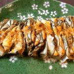 オーブン謝謝。ナス鶏ミルフィーユのオーロラマスタード(糖質5.4g)