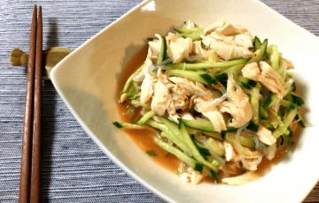 あら絶品。スイチリナンプラーのヤムウンセン風鶏サラダ(糖質7.2g)