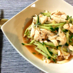 あら絶品。スイチリナンプラーのヤムウンセン風鶏サラダ。(糖質7.5g)