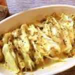 白菜激ウマ。エスニック豚の白菜ミルフィーユチーズ焼き(糖質4.0g)