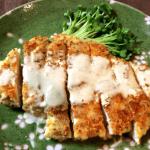 ガンガン行こうぜ。マヨバルサミコ風バジル粉豆腐チキンカツ(糖質3.7g)