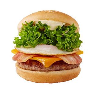ベーコンエッグチーズバーガー