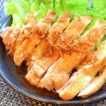 5枚いけちゃう。焦がし生姜の酢醤油パリパリチキン(糖質3.9g)
