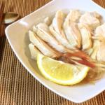 早くて激プリ。柔らか鶏むねの低温白だしフォー。(糖質4.3g)