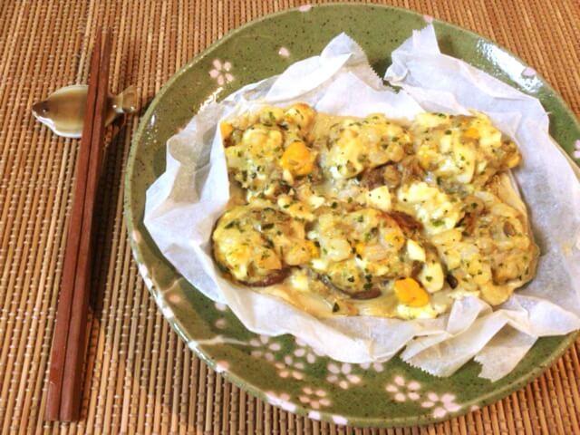 勝負の家飲みに。味噌海老タルタルの極旨椎茸焼き(糖質3.2g)