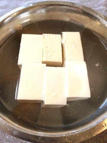 自宅が好きになる。オクラよだれ鶏タレの絶品プリ湯豆腐(糖質8.0g)
