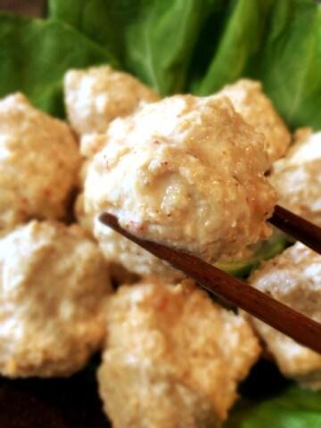 スイチリ胡麻味噌エノキ鶏団子(糖質7.0g)
