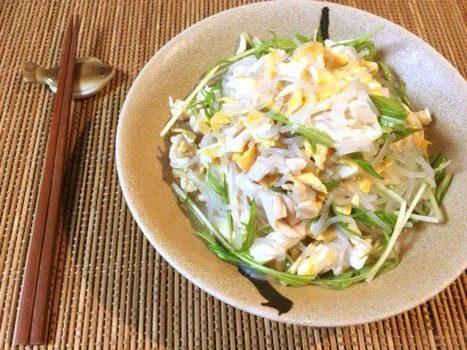 絶品モリモリ給食風異国サラダ(糖質6.6g)-2