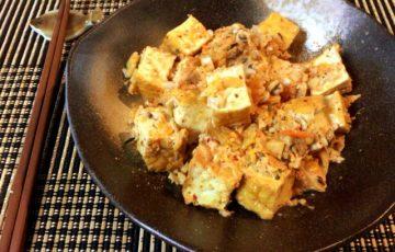 大変美味しい。ふわり厚揚げのキムチコンソメ生姜(糖質5.0g)