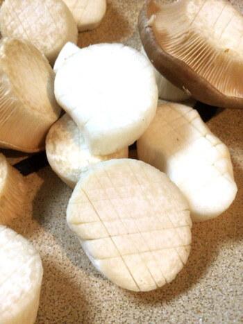 和からし醤油の砂肝エリンギ煮込み(糖質7.3g)
