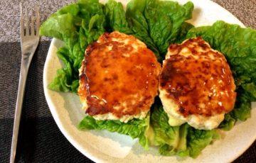 目指せ最短行程。豆腐チーズバーグのスイチリバター醤油(糖質4.8g)