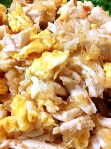 ささみたまごの絶品おろし豆板醤ナムル(糖質6.1g)