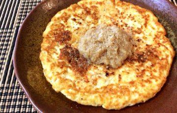 甘みがフワリ。海老ハンペンのおろし豆腐お好み焼き(糖質7.1g)