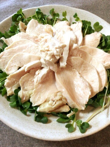 アボカド山葵酢醤油の蜂蜜鶏(糖質5.9g)