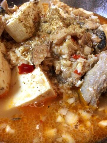 旨さ沁みいる夏のサバ缶味噌バター麻婆豆腐(糖質6.4g)