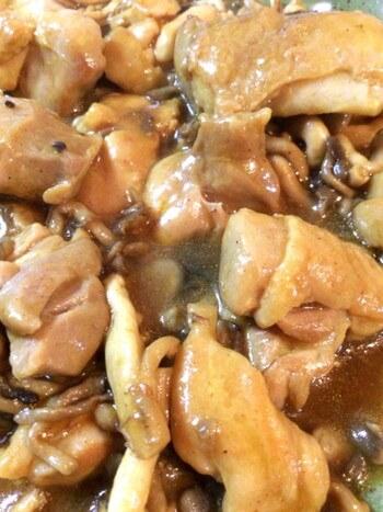 蕩けるキノコ鶏の濃厚カレーオイスター煮込み(糖質9.5g)