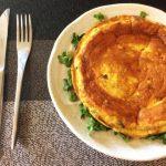 超主食系。絶品サバズッキーニカレーのバターフリッタータ(糖質2.0g