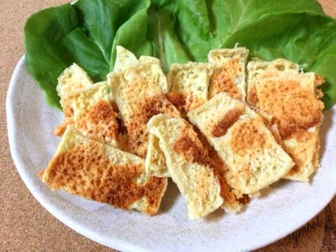 無限系パリサク。濃厚オイスター茸パテと食感揚げチー煎餅(糖質4.0g)