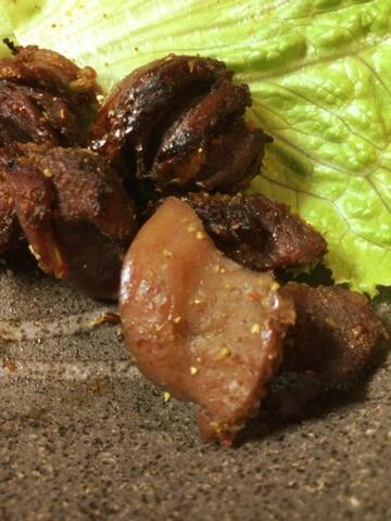 塩麹山椒一味の砂肝ソフトジャーキー(糖質3.3g)