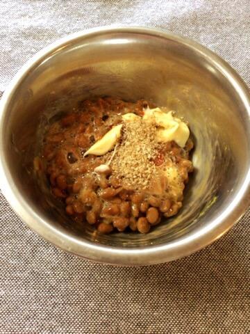 丸ごと1束。小葱チーズ豆腐オムレツの豆板醤マヨ納豆タレ(糖質4.9g) 09