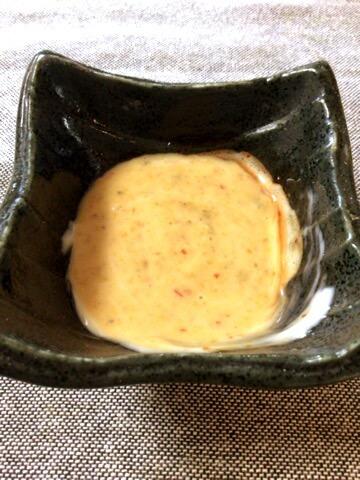 スイチリグリーンカレーマヨの海鮮ふわ団子