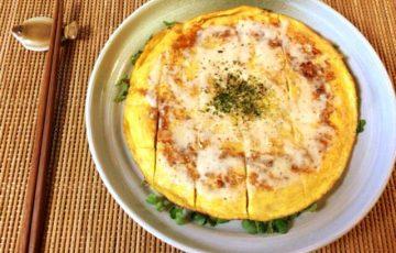 激盛り5分。絶品ツナチーズのモダン風マヨポンチヂミ(糖質6.8g)