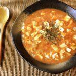 超速旨みボム。だしクミンの美味海老トマト卵とじスープ(糖質7.4g)