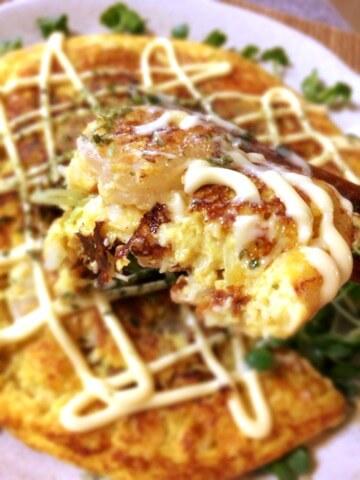 山盛り絶品海鮮ヨーグルトカレーチーズ焼き